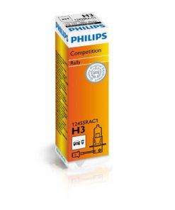 Halogen H3 12V 100 watt Philips Rally